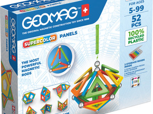 Greener play with 100% recycled toys from Geomag