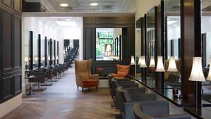 Celebrity hair stylist Paul Edmonds' fabulous Knightsbridge salon