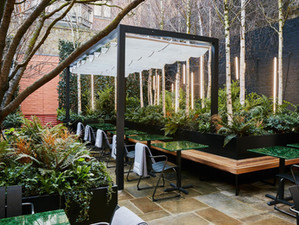 Mayfair's secluded al-fresco dining spot the Native at Browns Courtyard to open this April