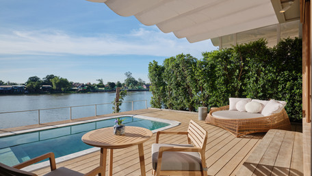 Sala bang pa-in a new boutique hotel to open on Bangkok's Chao Phraya River