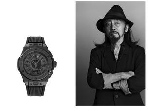 Hublot celebrates grand opening of new flagship boutique in Tokyo with designer Yohji Yamamoto