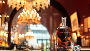 The world's finest bourbon and the world's finest crystal - Woodford Reserve Baccarat Edition