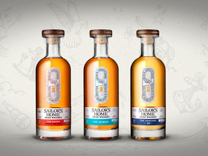 Discover the unexpected taste of Sailor's Home Irish Whiskey