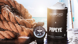 Bamford London launches limited edition Popeye GMT watch