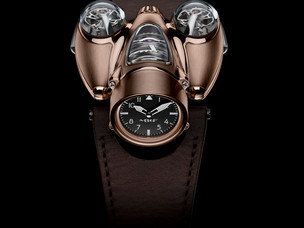 MB & F presents their phenomenal Horological machine the N°9 'Flow'
