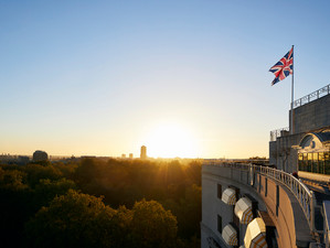 The sky's the limit with al fresco dining at The Dorchester