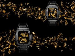Hublot Spirit of Big Bang Gold Crystal - an alchemy of materials and spirit