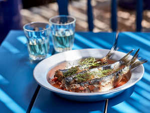 Recipe: Oven-baked sardines from Blue Palace, Crete