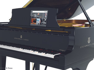 The evolution of the piano continues with Steinway & Sons' introduction of SPIRIO | r
