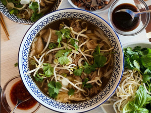 Recipe: Pho Ga Tay - Vietnamese Turkey Noodle Soup from Fairmont Waterfront, Canada