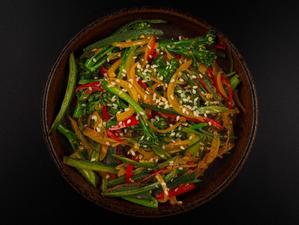 Recipe: Stork Mayfair's sauté okra, chilli & tenderstem greens