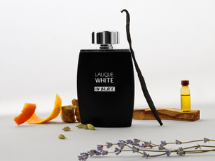 #Makeyourmark with Lalique's latest fragrance White in Black