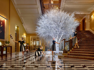 Claridge's Christmas Tree 2020 looks to the past to bring hope for the future