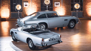 The name is Bond - MASTER Bond! The Aston Martin DB5 Junior: an icon for a new generation