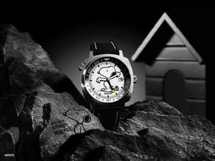 Bamford London launch limited edition Snoopy GMT in collaboration with Dover Street Market