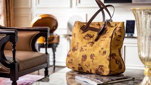 Andrea Ferolla creates limited edition bag for The Dorchester Collection's Hotel Eden Rome