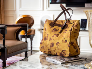 Andrea Ferolla creates limited edition bag for The Dorchester Collection's Hotel Eden Rome