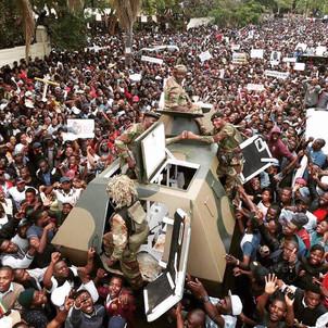 Zimbabwe Update: #notacoup Day 2