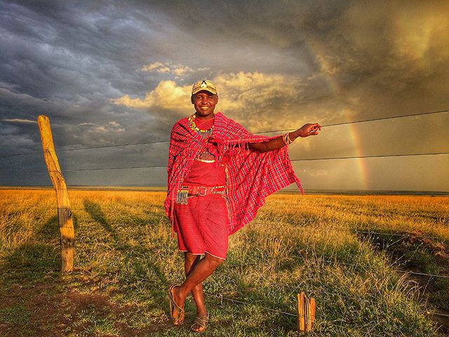 some maasai magic #intothewildsafaris #m