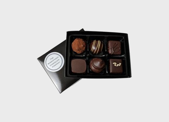 Dark Luxury Chocolates Box of 6