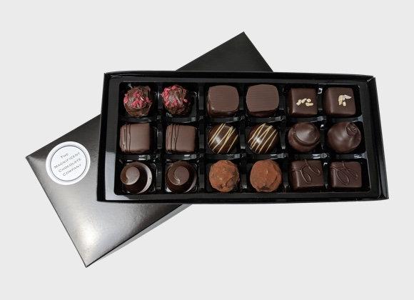 Dark Luxury Chocolates Box of 18