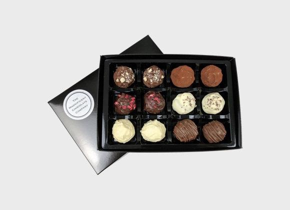 Chocolate Truffles Box of 12