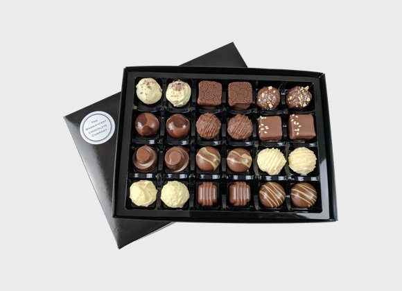 Milk And White Chocolates Box of 24