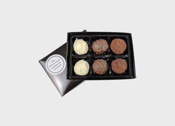 Chocolate Truffles Box of 6