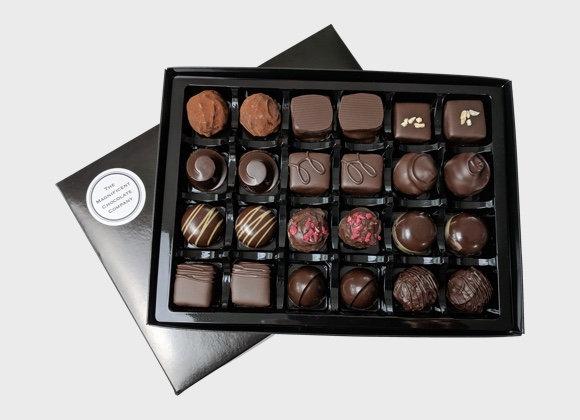 Dark Luxury Chocolates Box of 24