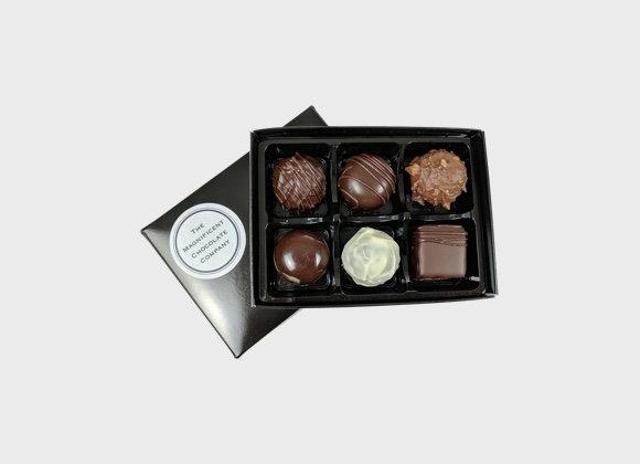 Boozy Chocolates Box of 6