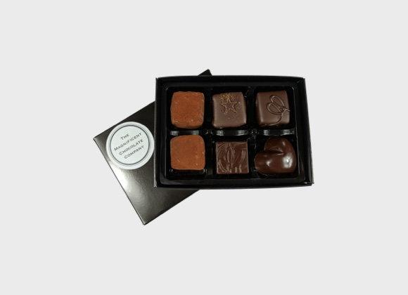 Vegan Chocolates Box of 6