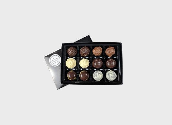 Boozy Chocolates Box of 12