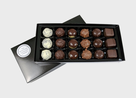 Boozy Chocolates Box of 18