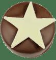 Handmade mince pie chocolate truffle