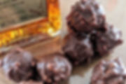 A luxury selection of alcohol infused, artisan handmade chocolates and truffles.