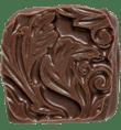 Handmade gingerbread chocolate truffle