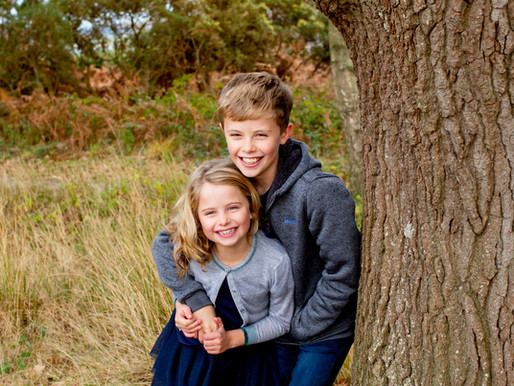 An autumn family photo session | Dorset family photographer