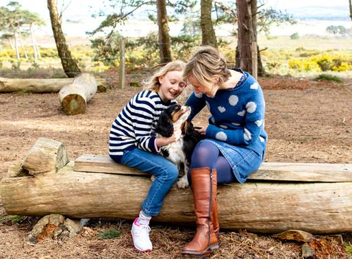 A spring family photo session at Arne   Dorset Days   Dorset family photographer