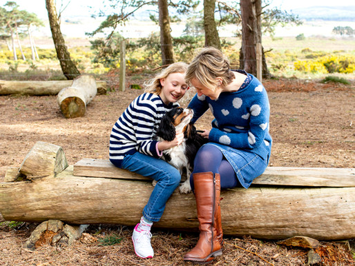 A spring family photo session at Arne | Dorset Days | Dorset family photographer