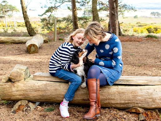 A spring family photo session at Arne | Dorset Days | Dorset family photographer