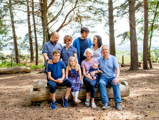 Summer family session at Arne Nature Reserve