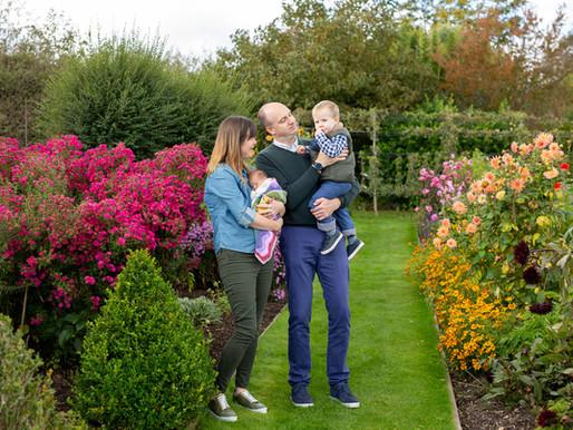 Francesca's newborn session at Holme for Gardens, near Wareham