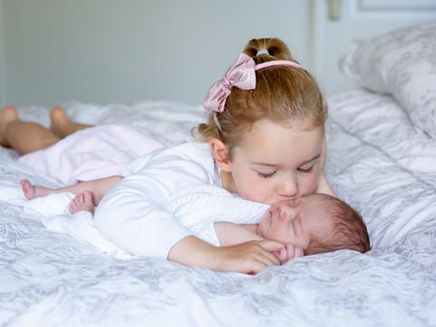 Newborn photo shoot at home in Dorset | Dorset newborn photographer
