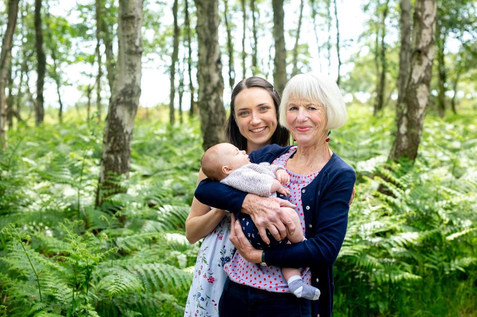 Dorset Days family photoshoot | Arne rspb nature reserve | extended family photoshoot