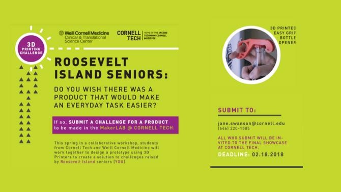 Cornell Tech Presentation | 3D Printing for Seniors