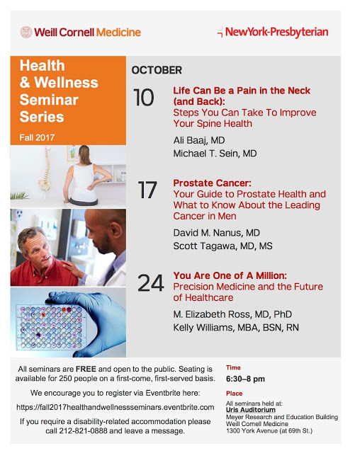 Events | Well Cornell Medicine October