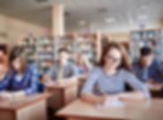 นักเรียนการสอบ