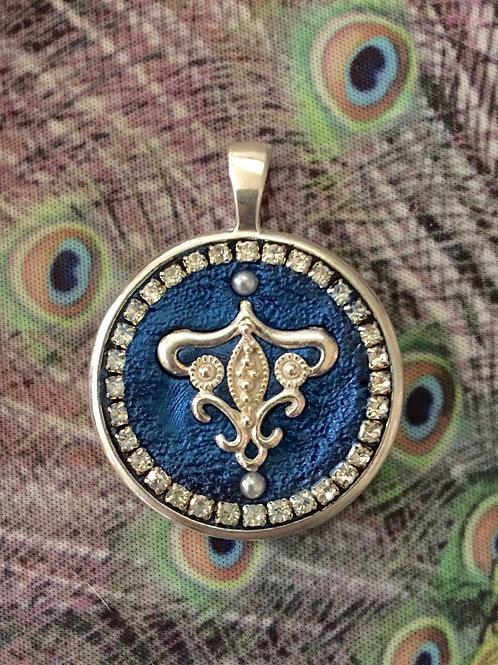 Sapphire Blue Royal Medallion