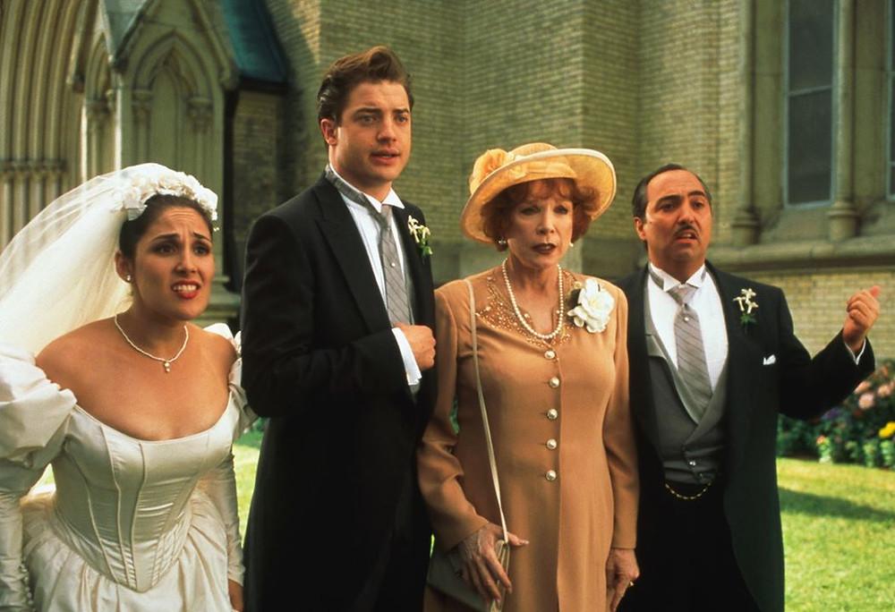 男主角:布蘭登費雪 Brendan Fraser  &  紅心婆婆:莎莉麥克琳 Shirley MacLaine