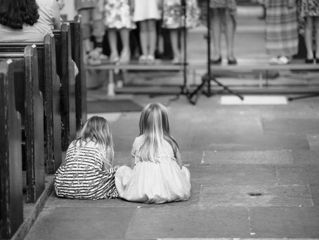 St. Andrew's Top Tips For Getting Through Church With Kids!